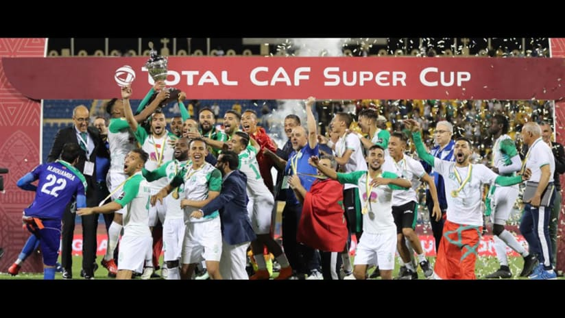 Raja edge Esperance to CAF Super Cup glory