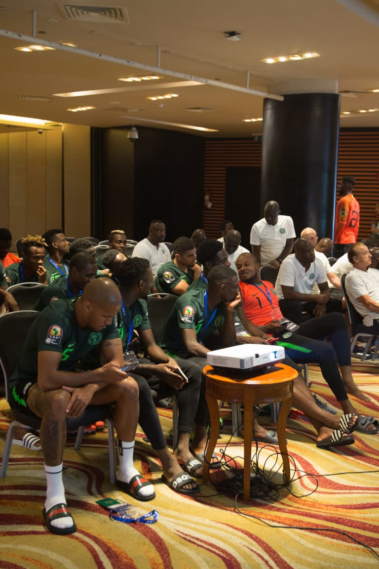 Team Nigeria in Alexandria